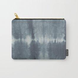 Tye Dye Gray Carry-All Pouch