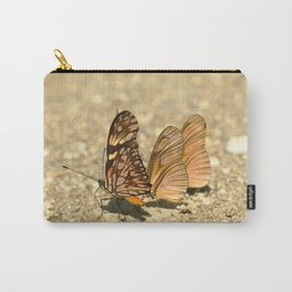 butterfly (Dione juno and Dryas julia) Carry-All Pouch