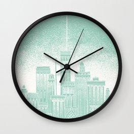 Uranus Celestial City Wall Clock