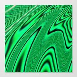Abstract Fractal Colorways 03 Malalchite  Canvas Print