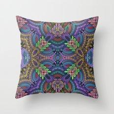 Diamond Garden Throw Pillow