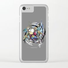 design monkey Clear iPhone Case