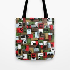 Not Home Alone Tote Bag