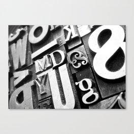 Metalpress Canvas Print
