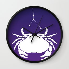 sign. cancer Wall Clock