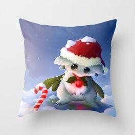 Mistletoe Nigri Throw Pillow