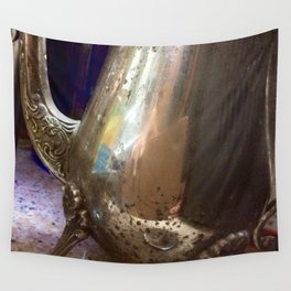 Antique silver Wall Tapestry