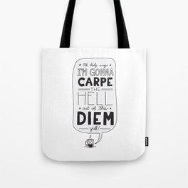 Coffee Diem Tote Bag