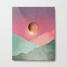 Surreal sunset 02 Metal Print