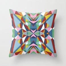 Abstract Kite Throw Pillow