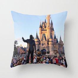 Walt's View Throw Pillow
