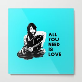 "Lennon ""All You Need Is Love"" Metal Print"