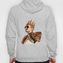 Queen Bill - White Text Hoody