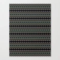 Pattern, in a box, grid Canvas Print