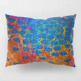 Burning Textile Drops Pillow Sham