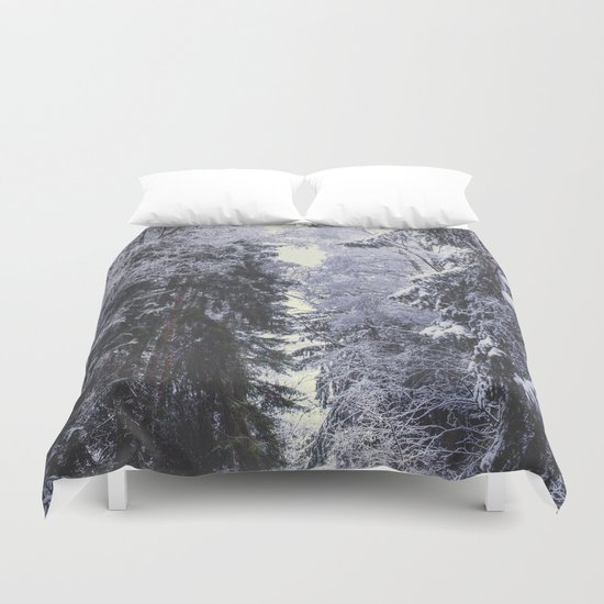 Freezing rastafaris Duvet Cover