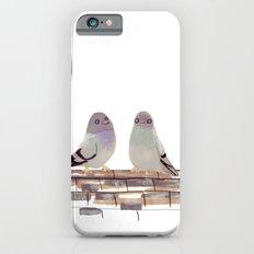 Pigeons in love Slim Case iPhone 6s