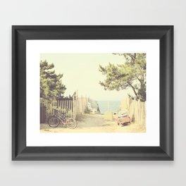 Vintage Summer Framed Art Print