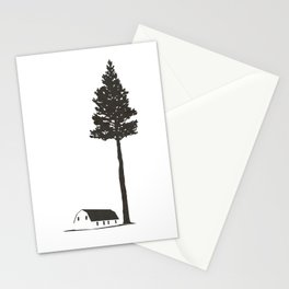 I Went to the Woods II Stationery Cards