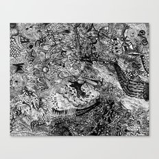 Scribbler Canvas Print