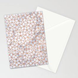 Empired Marble Stationery Cards