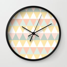 Party flags Wall Clock