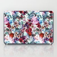 floral pattern iPad Cases featuring Floral Pattern by Eduardo Doreni
