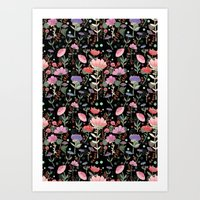 Wilderness Pattern Art Print