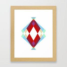 Lucky Diamonds Framed Art Print
