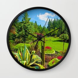 Every petal in its place Wall Clock