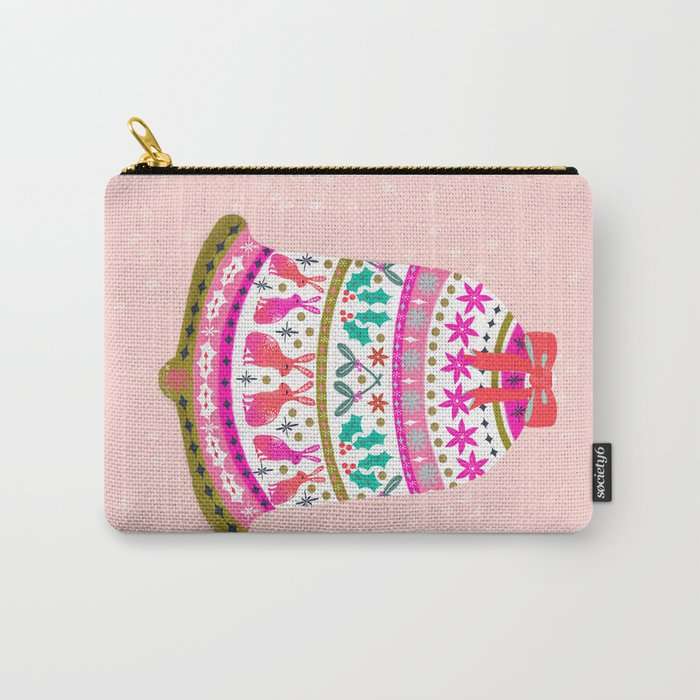 Holiday Bell by Andrea Lauren  Carry-All Pouch