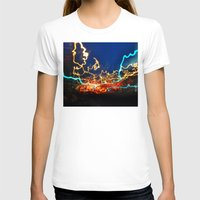minneapolis T-shirts featuring Minneapolis at Lightspeed by Katie Mae Dickinson