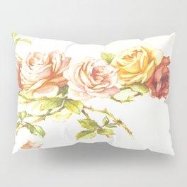 'Rose Leaves' 1898 Pillow Sham