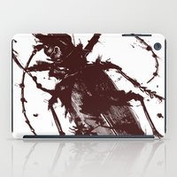 beetle iPad Cases featuring Beetle by Bearded Hunter