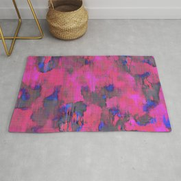 Lysergic Pink Rug