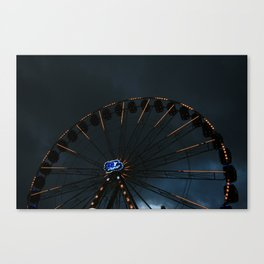 The wheel of life Canvas Print