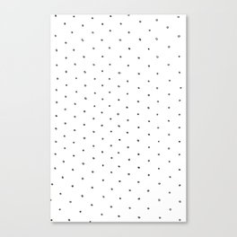 Polka Dot Canvas Print