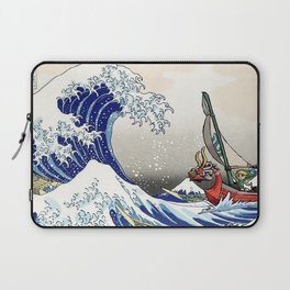 Legend of Zelda Great Wave Windwaker - the great wave off kanagawa Laptop Sleeve