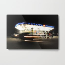 Friday Nights Metal Print