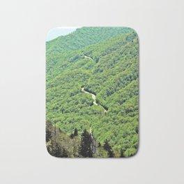 Long and winding road Bath Mat