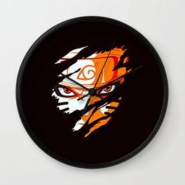 Face of Naruto Wall Clock