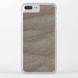 Soft Sand Clear iPhone Case
