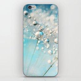 Sparkle in Blue iPhone Skin