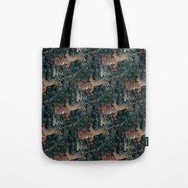 Bunny medieval tapestry Tote Bag
