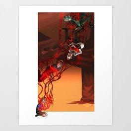 Red Memories Art Print