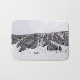 White Winterscapes III Bath Mat