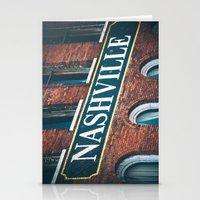nashville Stationery Cards featuring Nashville by GF Fine Art Photography