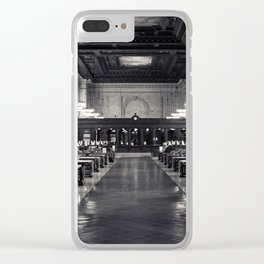 The New York Public Library Rose Reading Room Clear iPhone Case