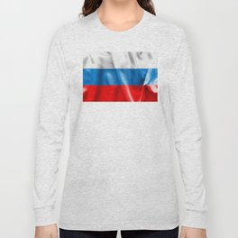 Russian Federation Flag Long Sleeve T-shirt