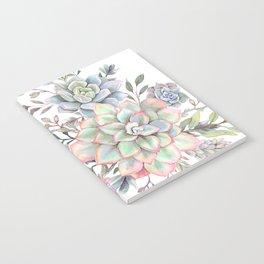 succulent watercolor 8 Notebook